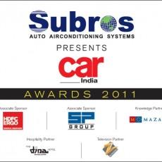 SUBROS CAR INDIA AWARDS 2011