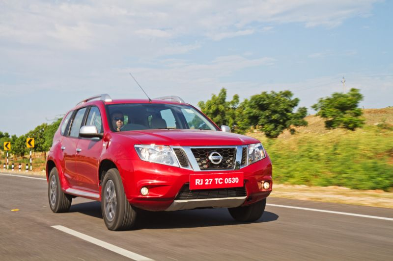 Nissan Terrano: Taking on the Terrain