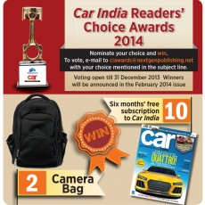 Car India Reader's Choice Awards 2014