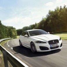 Jaguar XF turbo-petrol In