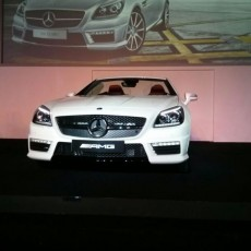 Mercedes SLK 55 AMG is here!