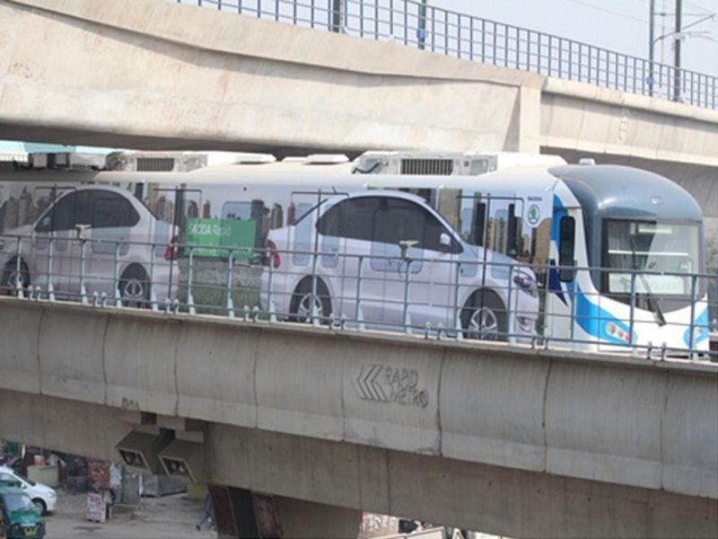 Škoda brands entire train on Gurgaon Rapid Metro