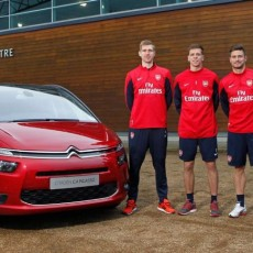 Citroën and Arsenal team up for unique car test