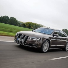 Travelling Business Class – Audi A8