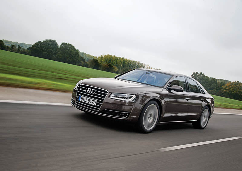 Travelling Business Class Audi A8 Car India