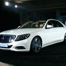 New Mercedes-Benz S-Class rolls in