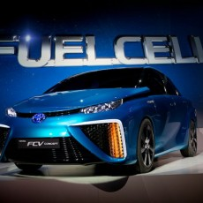 Toyota Fuel Cell Vehicle displays versatility
