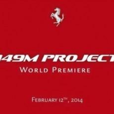 New Ferrari '149M' debut on Feb 12