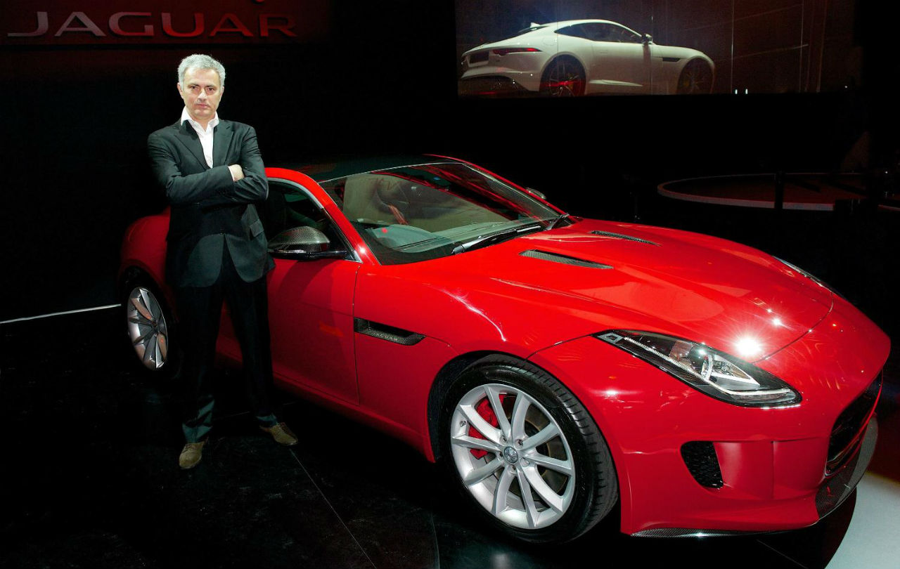 Chelsea Boss Mourinho Uk S First F Type Owner Car India