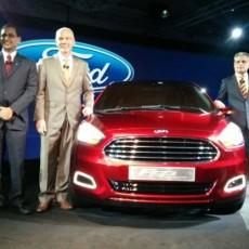 Ford Figo Concept sedan showcased