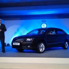 New 2014 Skoda Superb launched