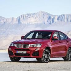 BMW X4 Sports Activity Vehicle Unveiled