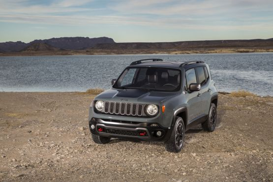 On The Jeep Renegade Trail