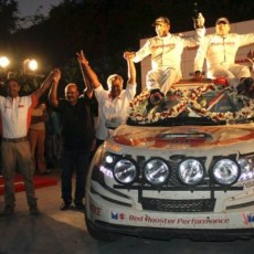 Mahindra Super XUV500 wins Desert Storm 2014