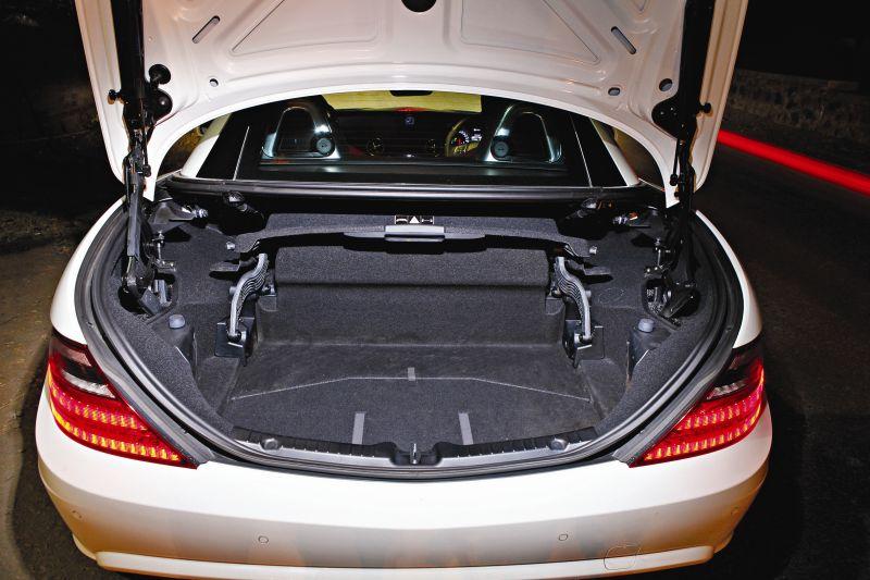 Mercedes SLK55 AMG Road Test 4 web