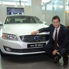 New Volvo S80 ushered in in style