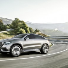 Concept Coupé SUV from Mercedes-Benz