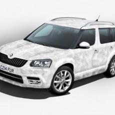 Škoda launch the new Yeti 'Ice' special edition