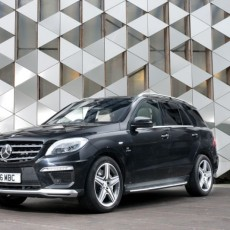 Über SUV – Mercedes ML63 AMG Launched