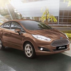 Facelifted Ford Fiesta Launched