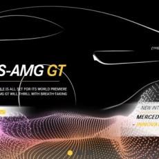 Mercedes AMG GT teased