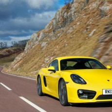 New Porsche Fours; New Car