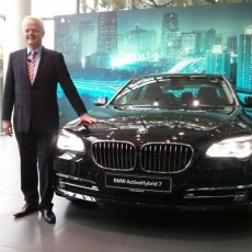 BMW ActiveHybrid 7L launched