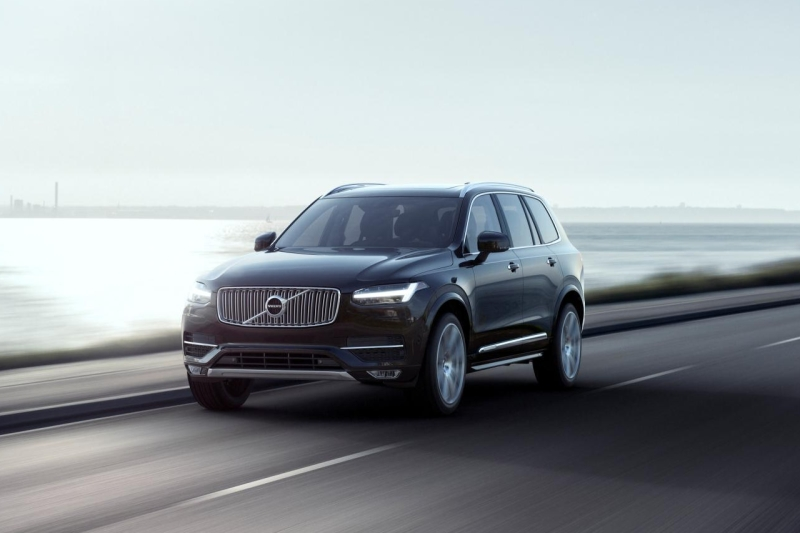 All new Volvo XC90 First Edition 2015 1 web