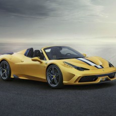 Limited Edition Ferrari 458 Speciale A Coming