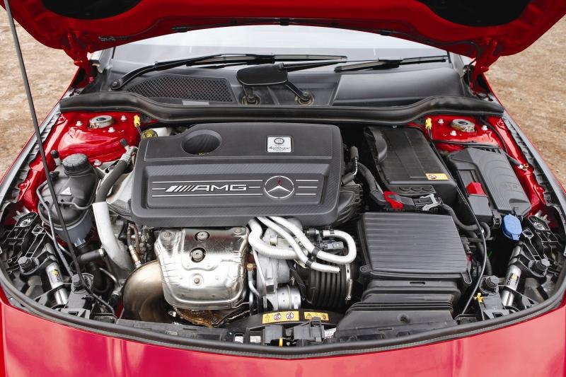 Mercedes CLA45 AMG Road Test 3 web