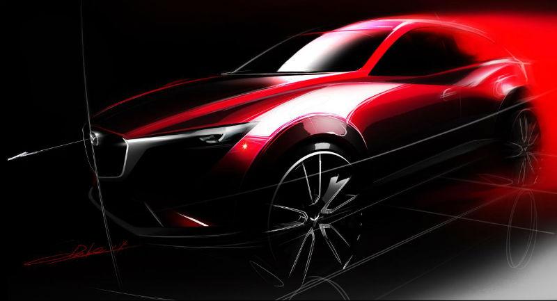 2015 Mazda CX-3 design WEB