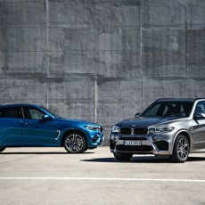 BMW set to unveil the X5 M and X6 M SUVs