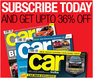 Subscribe to our Car India Magazine