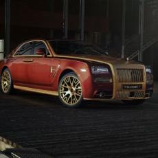 Masnsory launch custom Rolls Royce Ghost II