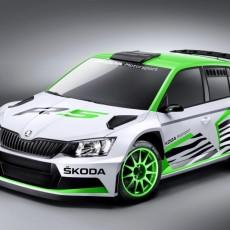 Škoda unveil new rally spec Fabia Concept