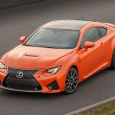 Lexus launch the new RC F performance coupé