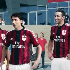 Toyo tyres launch new ad with AC Milan stars, Audi R8