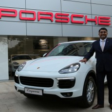 Porsche launches new 2015 Cayenne in India