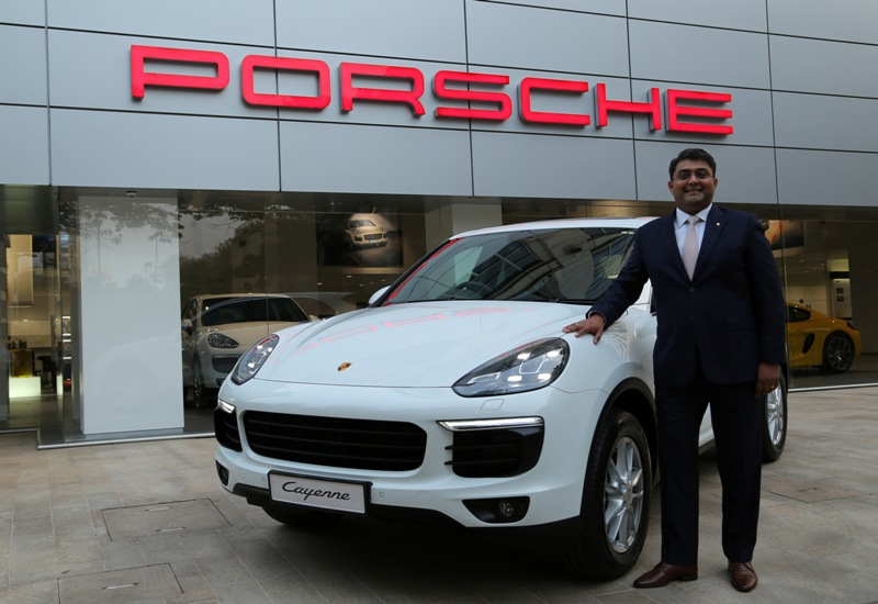 Porsche Launches New 2015 Cayenne In India Car India