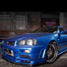 Too Fast Too Furious – Paul Walker's Nissan Skyline GT-R R34 up for grabs