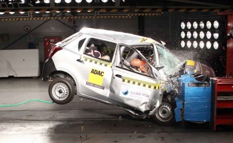Global NCAP India Crash Test web
