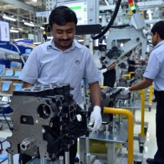 VW inaugurates new diesel engine plant