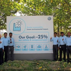 Volkswagen implements eco-friendly Think Blue.Factory initiative