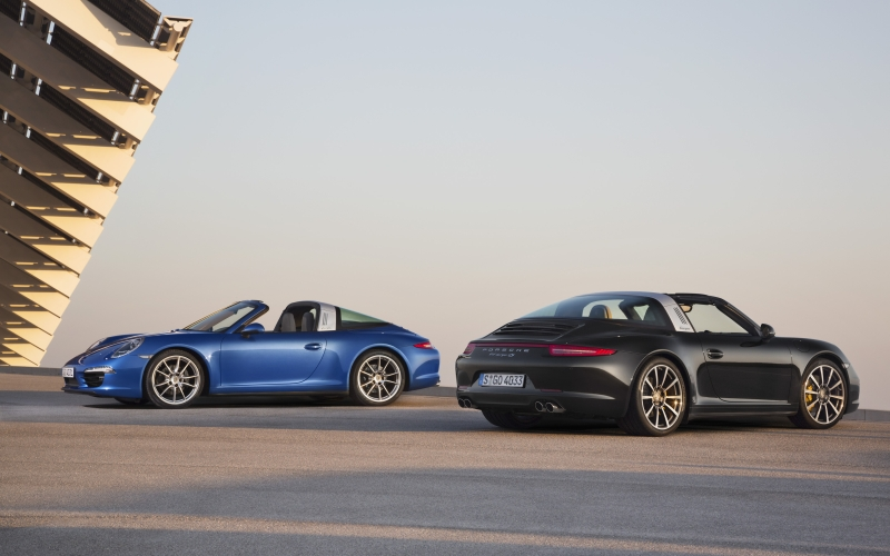 Porsche 911 Targa 4 Targa 4S Launch India web