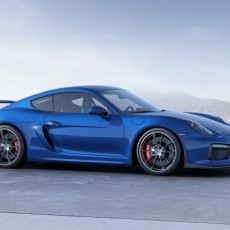 Porsche Cayman GT4 arrives