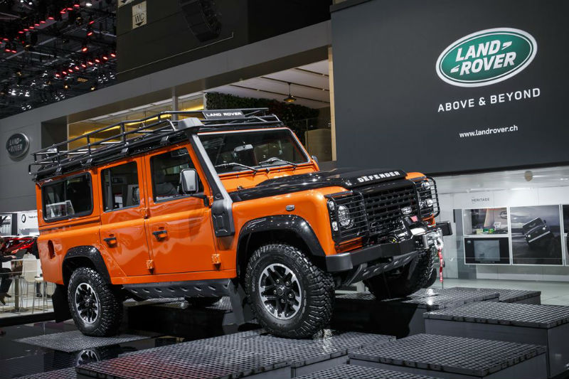 Land rover launches limited edition defender autocar india.