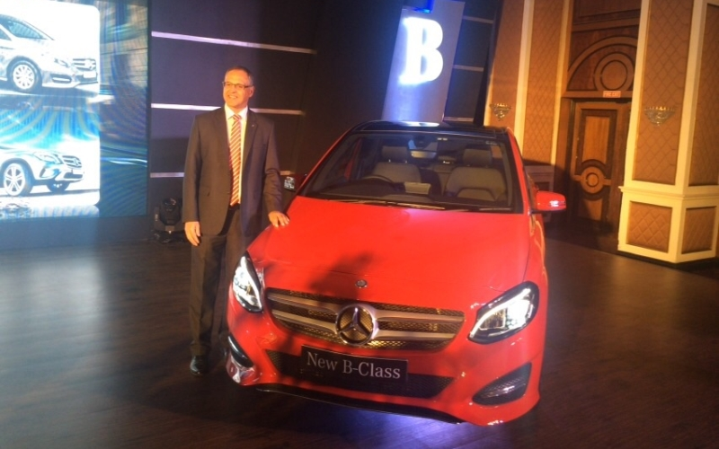 Mercedes-Benz B Class India 2015 web