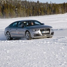 Frolicking on Ice: Audi S5 Ice Drive 2015