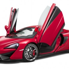 McLaren 540C Revealed in Shanghai