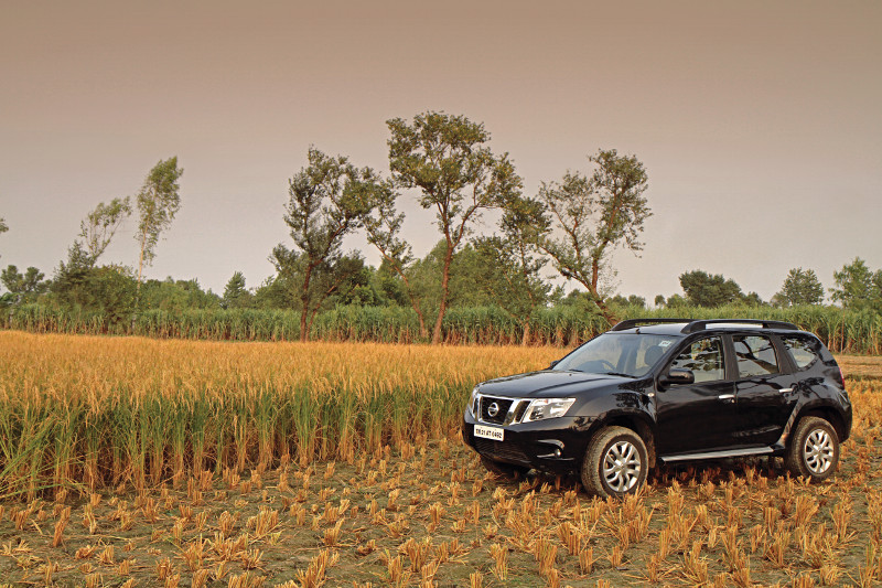 Field Day: Nissan Terrano Son of the Soil Drive